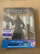 RESIDENT EVIL AFTERLIFE PROJECT POPART STEELBOOK BLU RAY NEW & SEALED