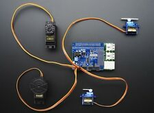 16-Channel PWM / Servo HAT for Raspberry Pi - 16 servos, motor driver stackable