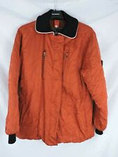 Post Card crinkle ski jacket pre-owned good condition comes with Post Card Belt