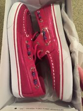 Sperry Top-Sider Girls 5 M Bahama Hot Pink YG47169; New in Box