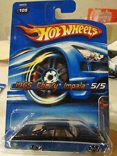 Hot Wheels 1965 Chevy Impala Muscle Mania #105