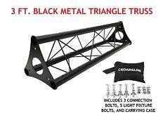 3' Wide Triangular Trussing Mobile DJ Lighting Bolt Truss System Triangles
