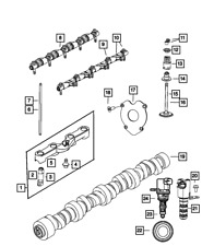 Genuine MOPAR Engine Camshaft 5038419AB