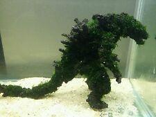 Aquatic live moss ornament for aquariums fish tanks Mosszilla