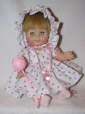 """Sweet Vintage 10"""" Vogue Baby Doll Dressed Cute"""