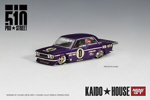 Mini GT 1:64 KaidoHouse Datsun 510 Pro Street Purple