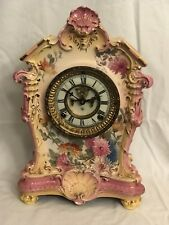 Antique Ansonia Royal Bonn La Tosea Clock