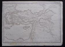 § carte Tableau de la retraite des Dix Mille - Félix Delamarche 1828
