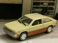 1980- 1985 Chevrolet Citation Economy Sport Coupe w/2.8L V-6 1/64 Scale LE M24
