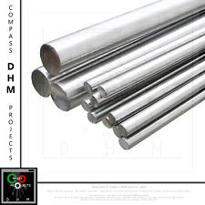 Albero tondo 50 cm acciaio inox AISI 316 barra liscia guida D 16 20 mm 3D CNC