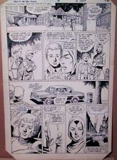 George Perez Teen Titans 45 PAGE ART 1983 Original Tales of New Raven Jericho BW