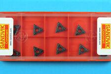 10 SANDVIK TCMT 090204-PM - Grade 4325 CNC Lathe Coated Carbide Turning Inserts