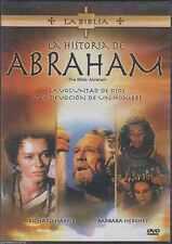 DVD - La Historia De Abraham ( The Bible : Abraham ) NEW FAST SHIPPING !