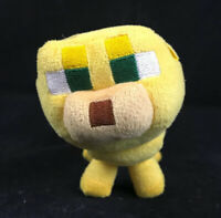 "Mojang Minecraft Baby Ocelot 10"" Plush Yellow Cat Block Lion Stuffed Animal"