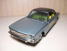 "8"" long Bandai Japan tin friction 1965 Mustang  Original sticker NEAR MINT"