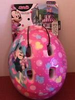 Minnie Mouse Helmet Bike Bicycle 3D Bow Ears Toddler Girls Safety Ride By Bell