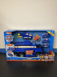 Paw Patrol Spin Master Chase Ultimate Police Cruiser 5 in 1 Vehicles