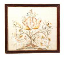 English Needlework Panel. Lot 538