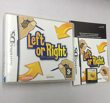 LEFT OR RIGHT TUTTI AMBIDESTRI  NINTENDO DS  USATO