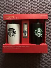Starbucks 20 oz Stainless Tumblers To Go 2018 Limited Edition Gift Pack
