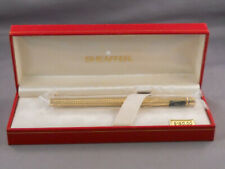 Sheaffer Vintage Slim Targa Gold Fountain Pen-Barleycorn--NEW OLD STOCK