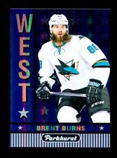 2017-18 Upper Deck Hockey Parkhurst  EAST vs WEST  #W-3  Brent Burns