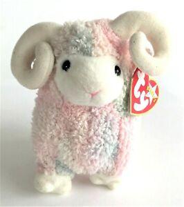 Ty Beanie Babies Plush Soft Toy Bam the Ram 15 cm 2001
