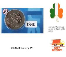 CR2430 BR2430 ECR2430 KL2430 KCR2430 3V Button Coin Cell Battery