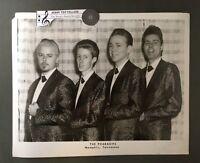 Original 1950's - 60's 8 x 10 Publicity Agency Photo The Pharaohs Memphis TN