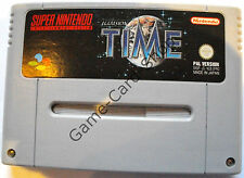 SNES-Time-Illusion of Time-Seulement Module-D' OCCASION