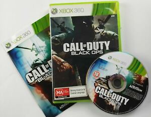 Call of Duty: Black Ops for Xbox 360 with Manual & Warranty - Great Disc