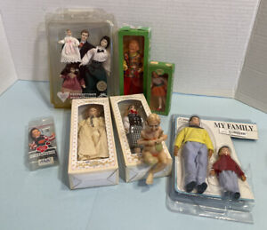 Vintage Most NOS Boxed Dolls CACO & More Dollhouse Miniature 1:12