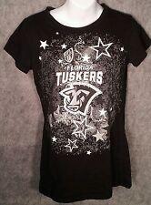 Florida Tuskers Womens Shirt Sz Large UFL United Football League Boar Bling