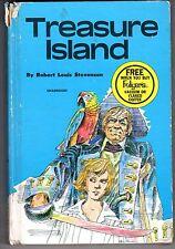 1971 Folgers Book, Treasure Island by Robert Louis Stevenson ~ Fair
