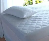 Waterproof Quilted Mattress Protector Supersoft Microfibre Breathable All Sizes