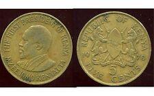 KENYA 5  cent 1970