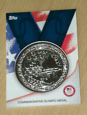 2012 Topps Olympics Commemorative Olympic SILVER MEDAL 1:1600 packs!