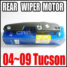 Hyundai 2004~2009 Tucson  Rear Windshield  Wiper Motor Genuine 98700-2E001