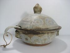 Dorothy Linsley Turtle Creek Pottery Little Rock, AR  1- EARTHENWARE SOUP TUREEN