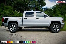 Decal Sticker Rear Bed Stripe Kit for Chevrolet Silverado 2014-2017 Z71 1500 HD