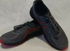 ASICS Men's Sz. 13 Frequent Trail Carbon Red Alert Running Shoes EUC Excellent