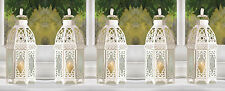 "White Wedding Lattice Candle Lantern 12"" (Set of 8) Party Event Supplies 13364"