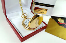 BB KING  24K GOLD clad Signed Autographed Blues Guitar POCKET WATCH  Gift Case