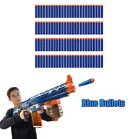 100PC Soft Refill Bullets Darts Round Head Gun Blaster Nerf N-strike Kid Toy