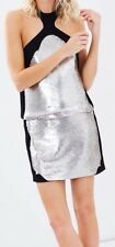 SASS & BIDE DRESS SIZE 10 SEQUIN FORMAL COCKTAIL PARTY TWILIGHT OF GLIMPSES