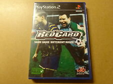 PS2 GAME / RED CARD (REDCARD, FOOTBALL, PLAYSTATION 2)