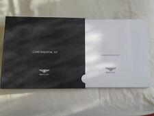 Bentley Continental GT range brochure 2003