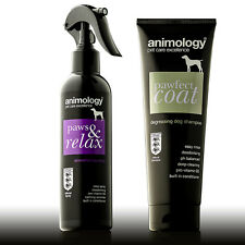 Animology Paws&Relax Dog Aromatherapy Spray & Pawfect Coat Dog Shampoo Set
