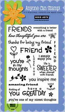 HERO ARTS Clear Stamp Set FRIENDS CL351