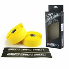 CONTROLTECH Silicone Road Bike Bar Tape , Yellow